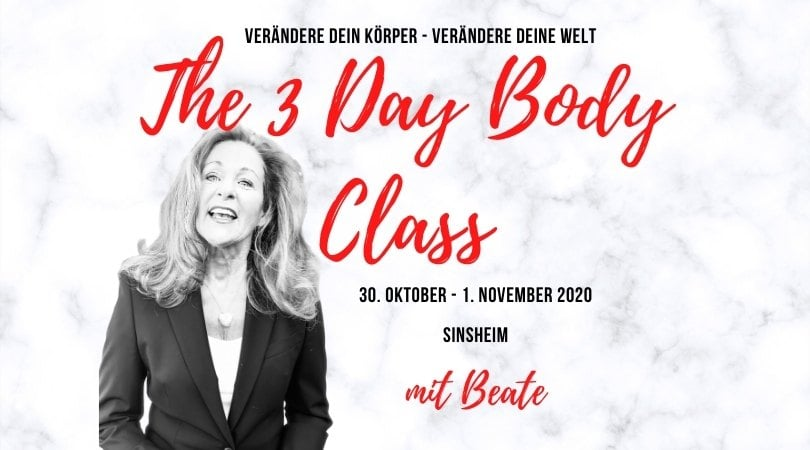 Drei Tage Körperprozess Kurs mit Beate Nimsky in Sinsheim